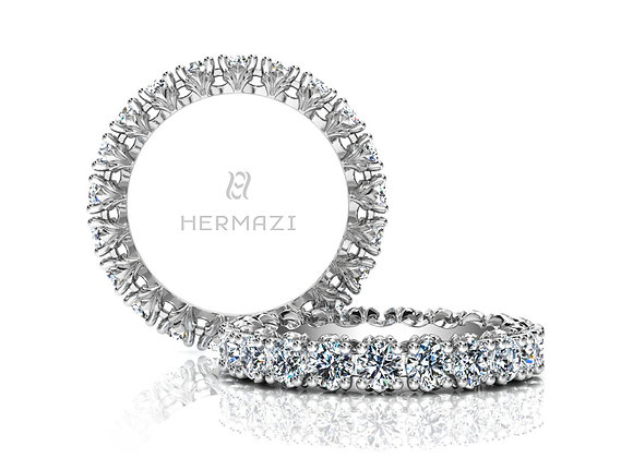 Hermazi® 'Loyalty' Eternity Diamond Band