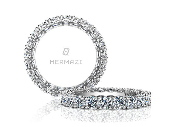 Hermazi® 'Noble' Eternity Diamond Band