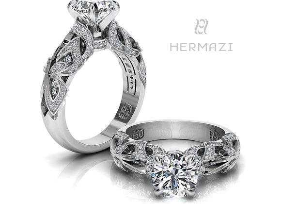 Hermazi® 'Rainforest Honey II.' Ring