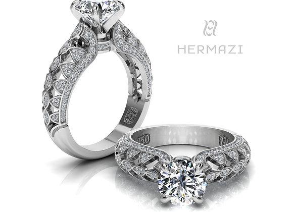 Hermazi® 'Raspberry Blossom Honey I.' Ring