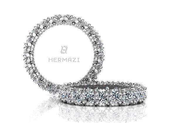 Hermazi® 'Blissful' Eternity Diamond Band