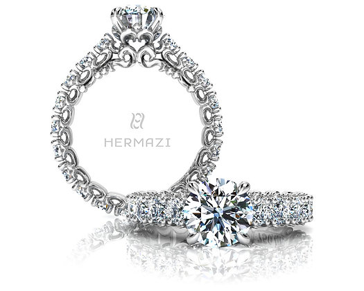 Hermazi® 'Compassion' Eternity Ring