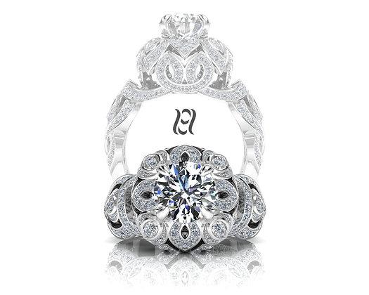 Hermazi® 'Dandelion' Ring