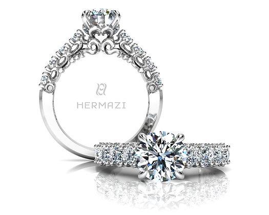 Hermazi® 'Compassion' Halfway Ring