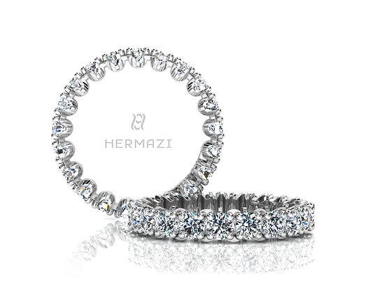 Hermazi® 'Unimaginable' Eternity Diamond Band