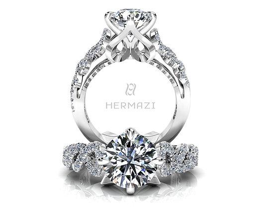 Hermazi® 'Pirouette' Ring