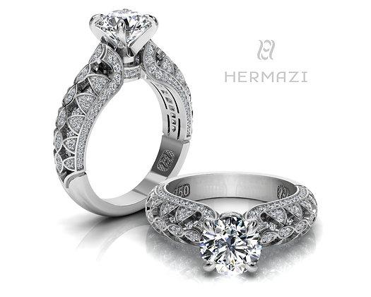 Hermazi® 'Raspberry Blossom Honey' Ring