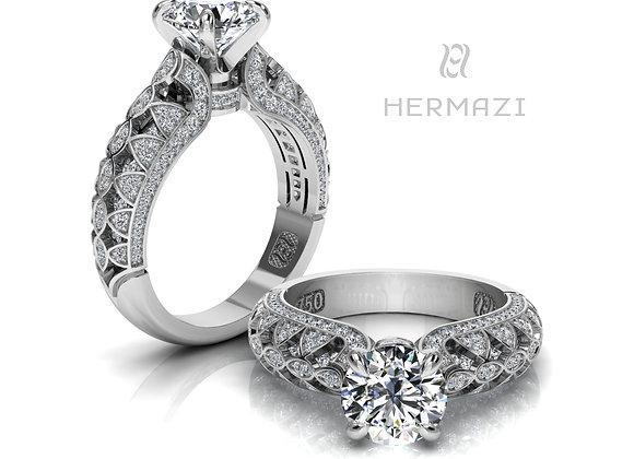 Hermazi® 'Raspberry Blossom Honey II.' Ring