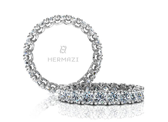 Hermazi® 'Devotion' Eternity Diamond Band