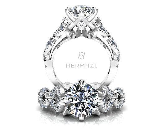 Hermazi® 'Glissade' Ring