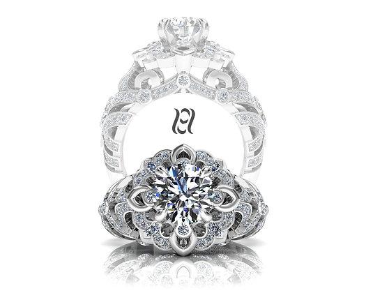 Hermazi® 'Everlasting Daisy Petite' Ring