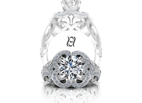 Hermazi® 'Violet Petite' Ring