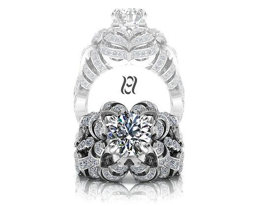 Hermazi® 'Camellia' Ring