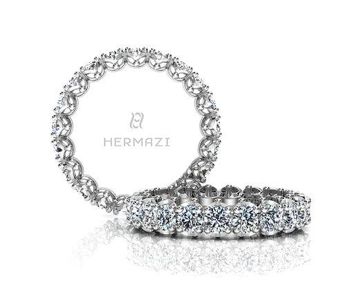 Hermazi® 'Serene' Eternity Diamond Band