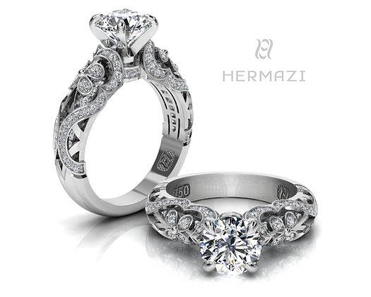 Hermazi® 'Lavender Honey' Ring