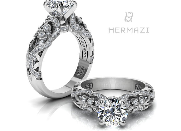 Hermazi® 'Lavender Honey II.' Ring