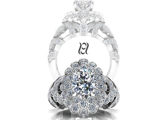 Hermazi® 'Pompom Dahlia' Ring