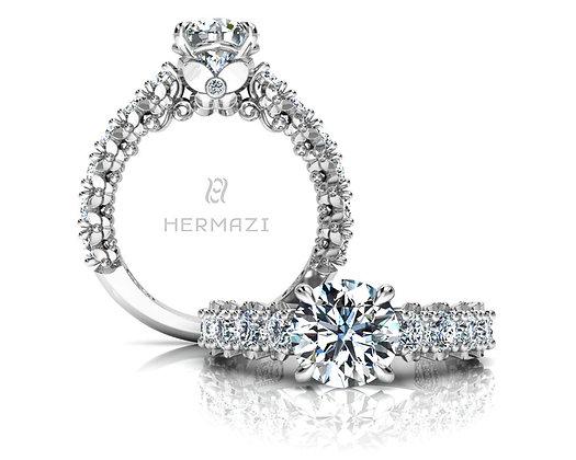 Hermazi® 'Blissful' Three-Quarter Way Ring