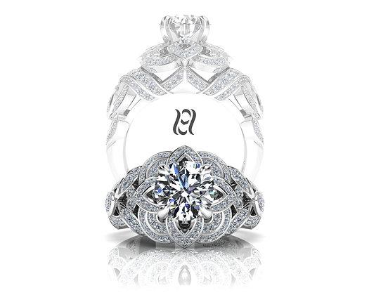 Hermazi®'Cherry Blossom Petite' Ring
