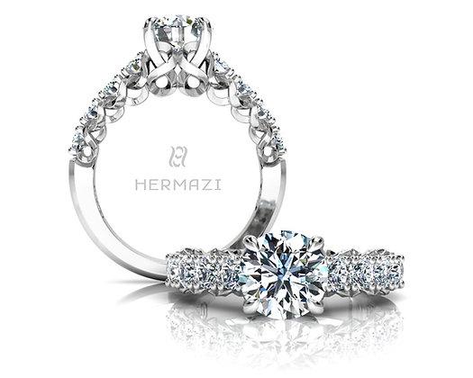 Hermazi® 'Infinite' Halfway Ring
