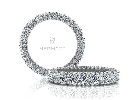 Hermazi® 'Everlasting' Eternity Diamond Band