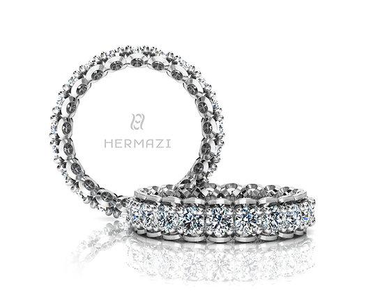 Hermazi® 'Infatuate' Eternity Diamond Band