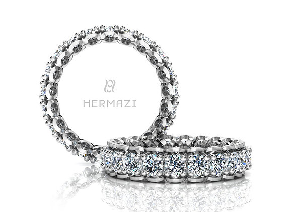 Hermazi® 'Infatuate' Eternity Diamond Band