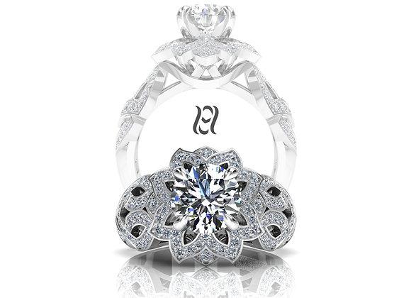 Hermazi® 'Daffodil Petite' Diamond Ring
