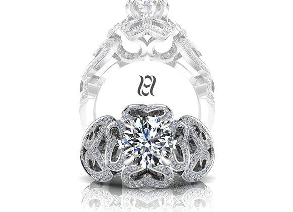 Hermazi® 'Bleeding Heart Petite' Ring