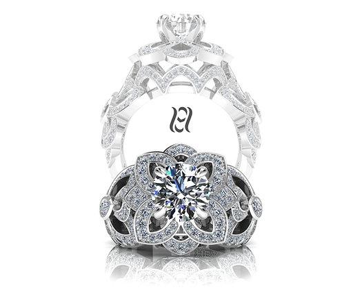 Hermazi® 'Desert Rose' Ring
