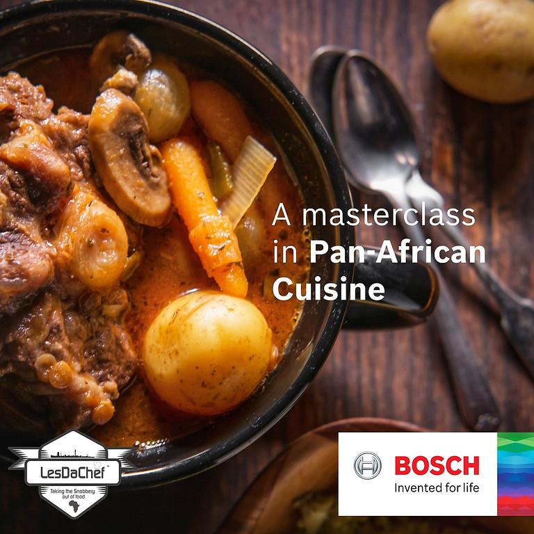 #LesDaChefClassyCookery with Bosch - Pan African Cuisine