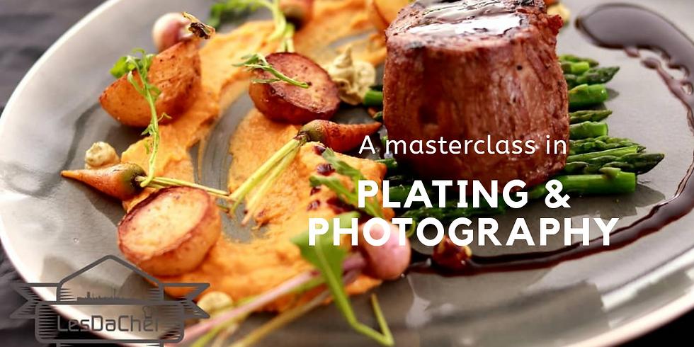 #LesDaChefClassyCookery - Food Plating & Photography