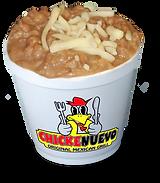 CHICKENUEVO Refreid Beans