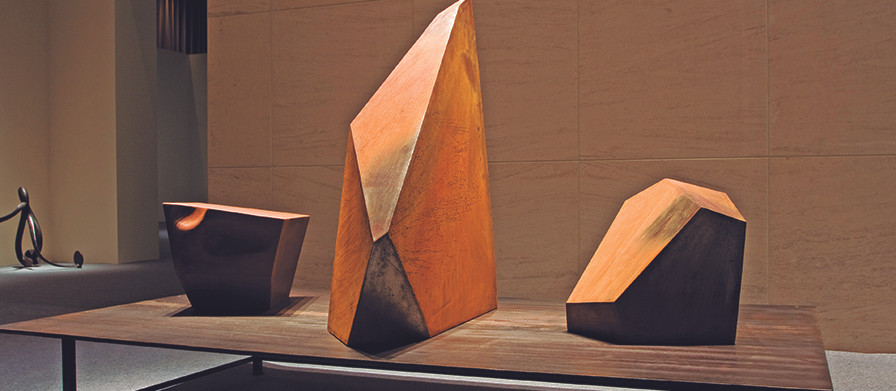 《13.5坪》鋼雕作品