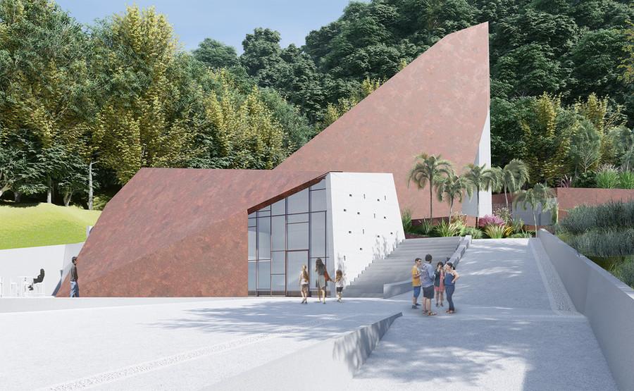 接待中心與美術館