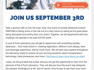 "The RMPCMA Held Their ""September Education 6 Foot Laboratory"" At The Omni Interlocken Hotel!"