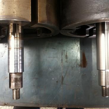 Repaired shaft