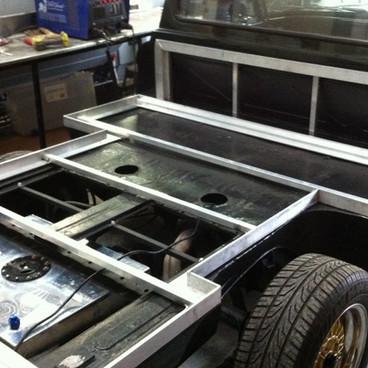Custom ute tray