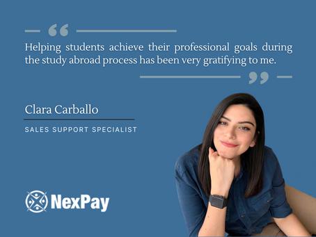 NexPay welcomes Clara Carballo to the team
