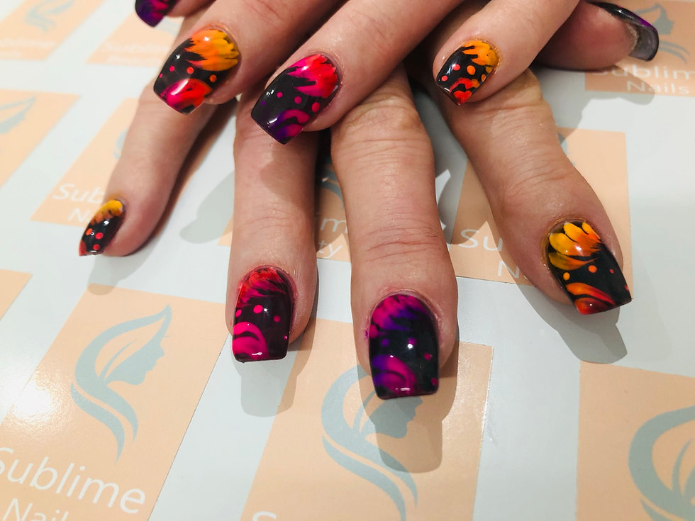 patterned nail art.jfif
