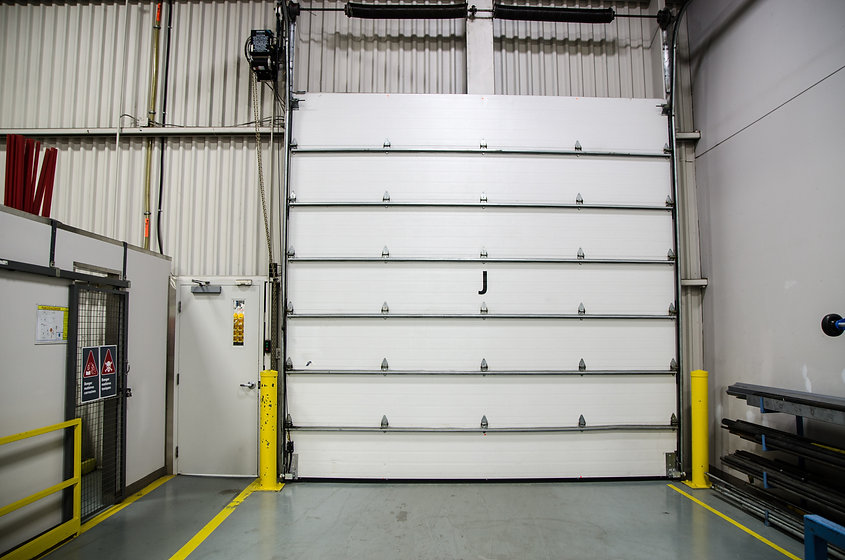 Commercial sectional door from the inside.jpg