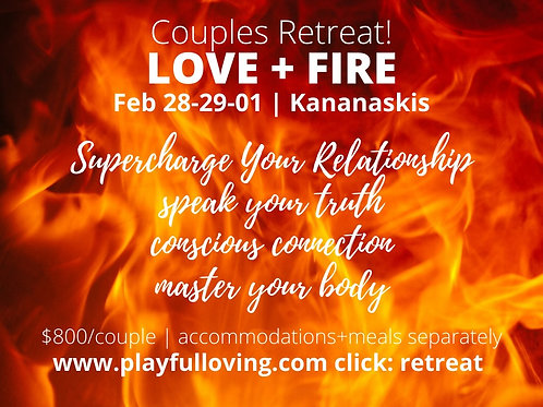 Love + Fire RETREAT for Couples