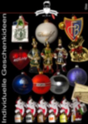 Geschenkideen Glas - Christmas Gift - Ornaments - Santa Claus