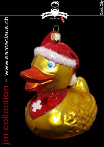 jm Kollektion - Weihnachtskugeln Duck City