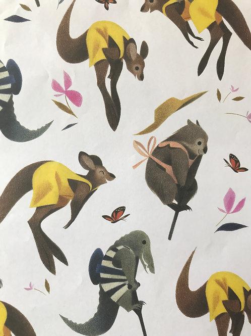 Papier d'emballage - Geneviève Godbout
