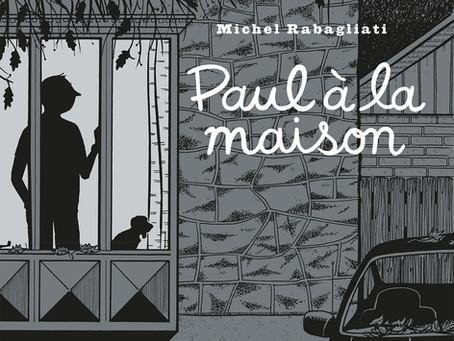Le Prix BD des collégiens 2020-2021 est décerné à Michel Rabagliati pour Paul à la maison!