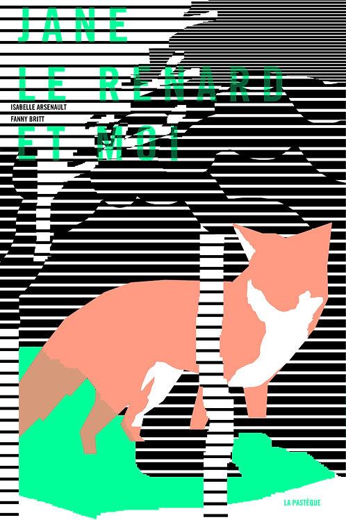 Sérigraphie Jane, le renard et moi - Slep