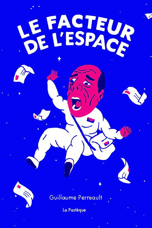 Sérigraphie Le facteur de l'espace - Laurianne Poirier