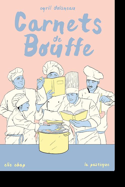 Sérigraphie Carnets de bouffe -Élie Chap