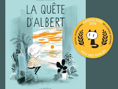 Isabelle Arsenault remporte un prix au Festival d'Angoulême!